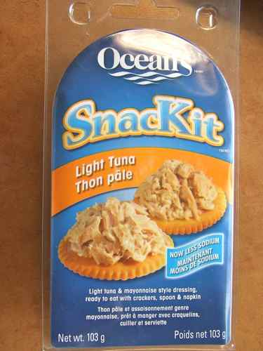 tuna snack kit - healthy option