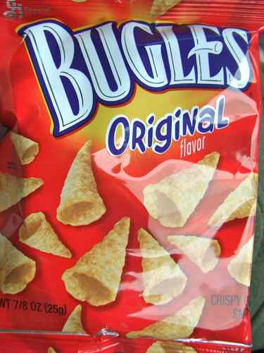 bugles in vending machine
